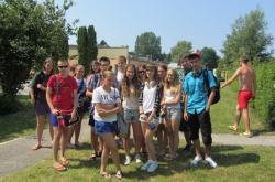 obóz dla nastolatków