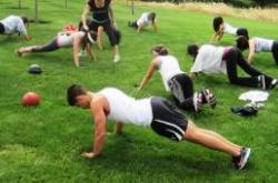 Obozy fitness